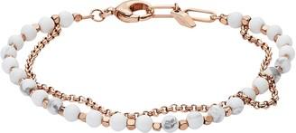 Fossil Women's Multi-Beaded Bracelet