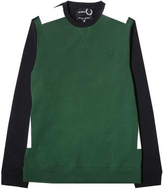 Fred Perry x Raf Simons Tape Detail Sweatshirt