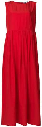Jil Sander oversized maxi dress
