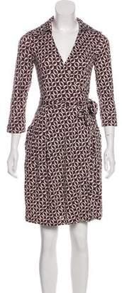 Diane von Furstenberg Megan Silk Mini Dress