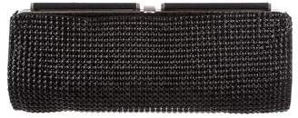 Calvin Klein Collection Embellished Leather Clutch