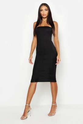 boohoo Bandeu Midi Dress