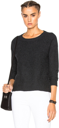 James Perse Cashmere Cropped Sweater $350 thestylecure.com