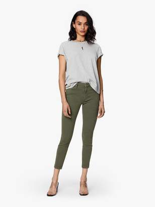 Mother High Waisted Looker Ankle - Second Chance Dark Olive