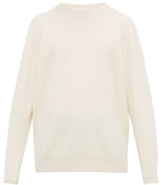 Raey Loose Fit Crew Neck Cashmere Sweater - Mens - Ivory