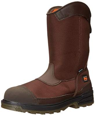 Timberland Men's Mortar Pull-On CSA Comp Toe Waterproof Work and Hunt Boot