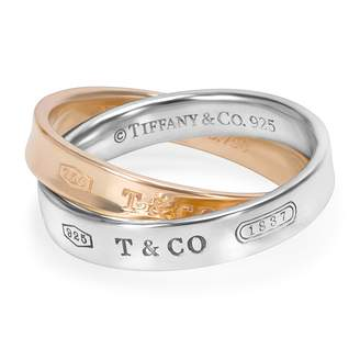Tiffany & Co. 1837 yellow gold ring
