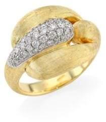 Marco Bicego Legami Diamond& 18K Yellow Gold Ring