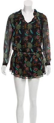 BA&SH Knee-Length Printed Dress