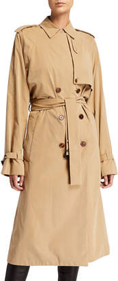 The Row Triana Water-Repellant Trench Coat