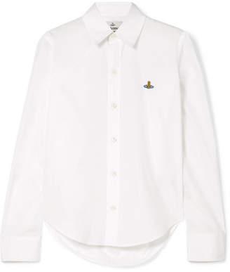 Vivienne Westwood Pianist Cotton-poplin Shirt - White