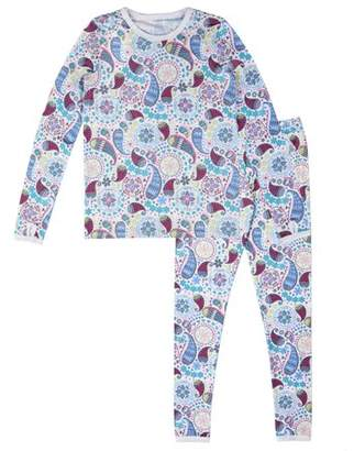 Cuddl Duds ClimateRight by Girl's Polycore Warm Layering Long Underwear (Little Girls & Big Girls)