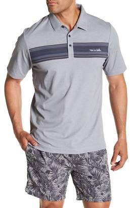 Travis Mathew The MSF Striped Polo