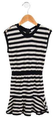 3.1 Phillip Lim Girls' Striped Knit Dress