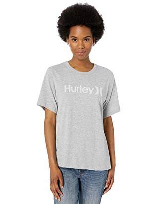 Hurley Short Sleeve One & Only Perfect Women's Crew T-Shirt