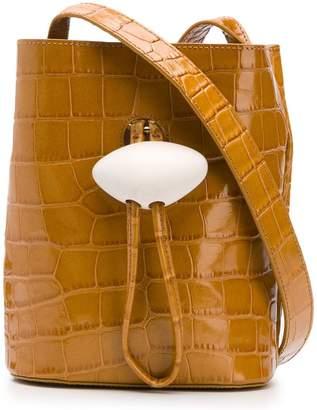 REJINA PYO mini crocodile effect bag