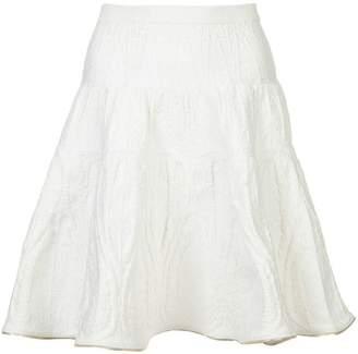 Sophie Theallet metallic trim knit skirt