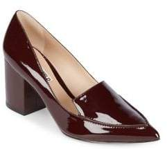 Karl Lagerfeld Paris Aressa Patent Leather Point Toe Pumps
