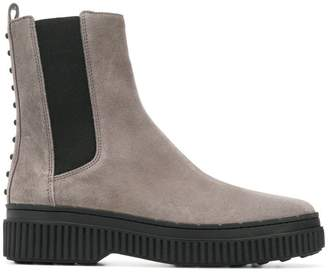 Tod's pull-on ankle boots