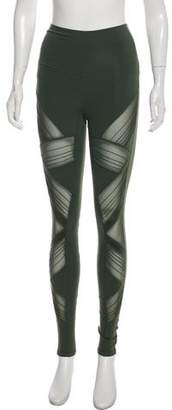 Alo Yoga High-Rise Stretched Leggings w/ Tags