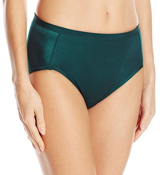 Vanity Fair Women's Body Caress Hi Cut Panty $10.80 thestylecure.com