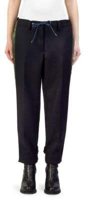 Sacai Melton Nylon Twill Pants