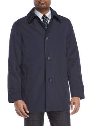 Kenneth Cole Ray Button Rain Coat