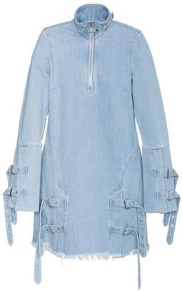 Marques Almeida Marques'almeida high neck denim dress
