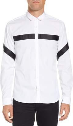 HUGO Enian Slim Tape Detail Sport Shirt