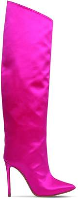 110mm Alex High Satin Boots