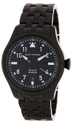 JACK MASON BRAND Men's Aviation Bracelet Watch $275 thestylecure.com