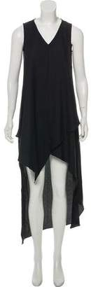 Nicole Miller Asymmetrical Maxi Dress w/ Tags