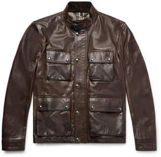 Belstaff Brad 2.0 Waxed-leather Jacket