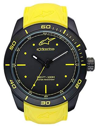 Alpinestars Unisex-Adult Analogue Classic Quartz Watch with Silicone Strap 1037-96008