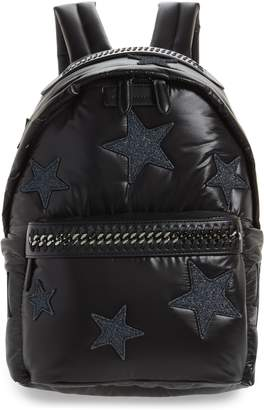 Stella McCartney Falabella Go Stars Nylon Backpack