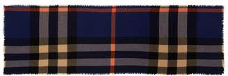 Burberry Wool-Cashmere Check Scarf