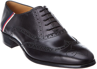 Gucci Brogue Sylvie Leather Wingtip Oxford