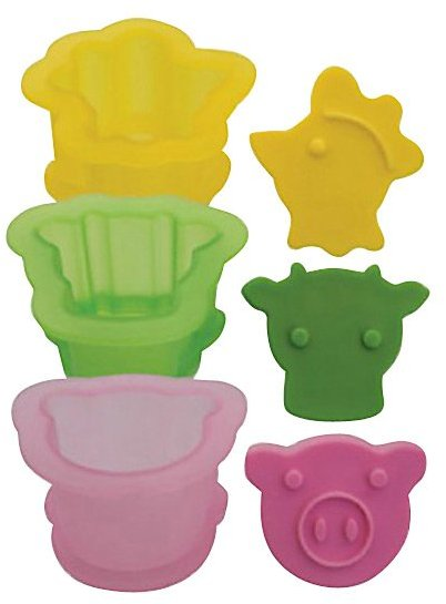Tovolo Farmyard Ice Cream Sandwich Molds, Set of 3