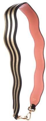 Fendi Strap You Wavy Shoulder Strap