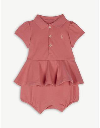 Ralph Lauren Cotton shortall 3-24 months