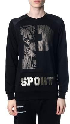 Philipp Plein Bill Black Sweatshirt