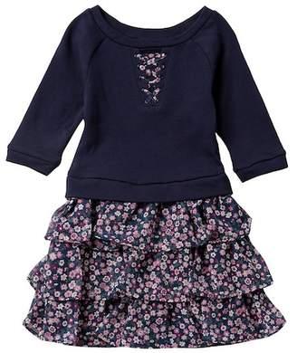 Blush by Us Angels Sweatshirt Drop Waist Dress (Toddler & Little Girls)