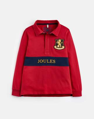 Joules Clothing Odrtomflg Tom Polo Shirt with Union Jack Detail under Collar 32 Years