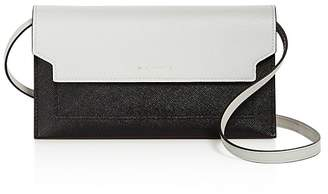 Marni Color-Block Leather Wallet Crossbody