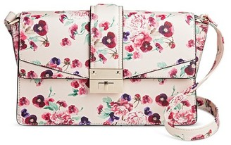 Mossimo Women's Pink Floral Crossbody Handbag - Mossimo $34.99 thestylecure.com