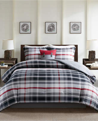 Woolrich Black Forest Reversible 5-Pc. Queen Comforter Set Bedding