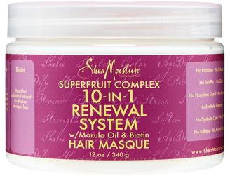 SheaMoisture 10 in 1 Renewal System Hair Masque $12.99 thestylecure.com