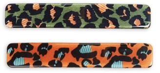 Ava & Aiden 2-Piece Printed Hair Clip Set
