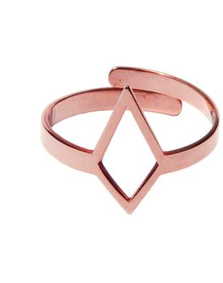 Dutch Basics - Ruit Adjustable Knuckle Ring Small Rose Gold