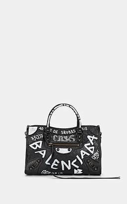 Balenciaga Women's Arena Small Leather Classic City Bag - Black